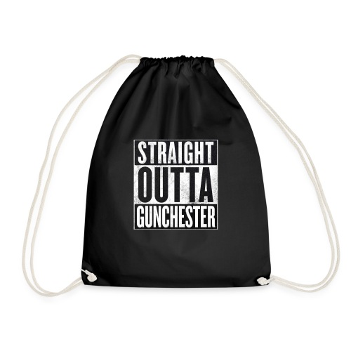 Straight Outta Gunchester - Drawstring Bag