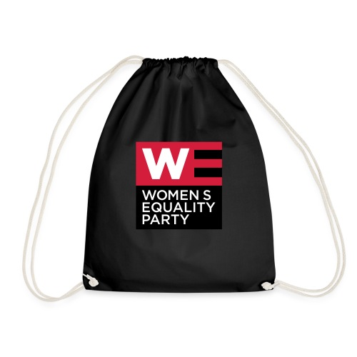 WE_LOGO_RED_CMYK - Drawstring Bag