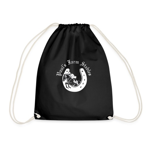 Unisex Paul's Farm Stables Contrast Colour Hoodie - Drawstring Bag