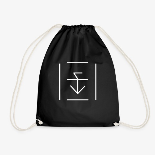 ZWOOLZ Black T-Shirt (Men) - Drawstring Bag