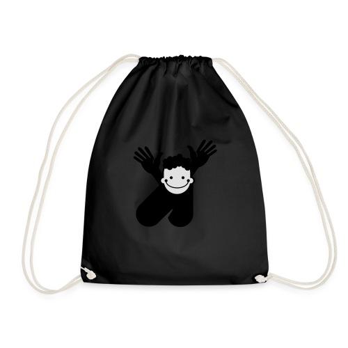a curl - Drawstring Bag