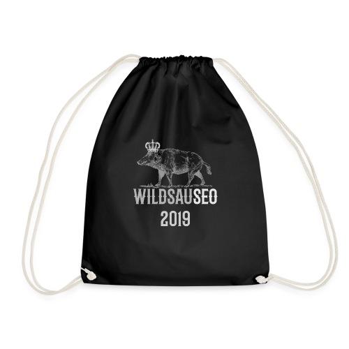 Wildsauseo T-Shirt zur WildSauSeo challenge - Turnbeutel