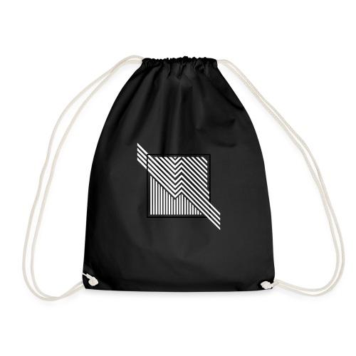 Lines in the dark - Drawstring Bag