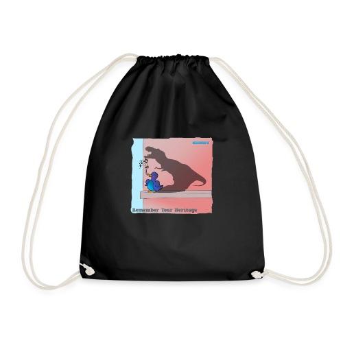 Woofra's Design Heritage - Drawstring Bag