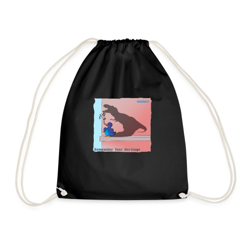 Woofra's Design Heritage - Drawstring Bag