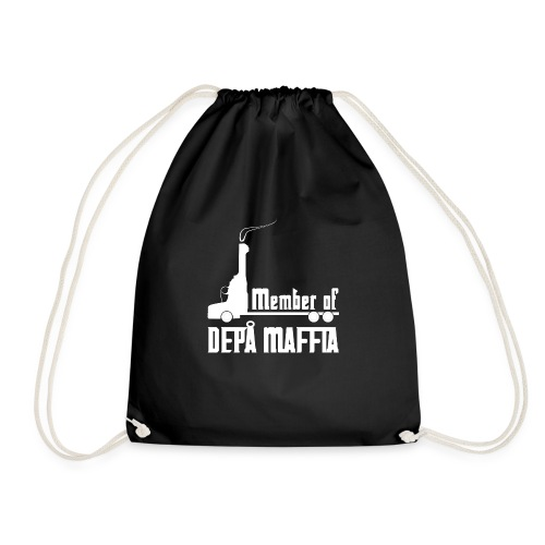 Depå Maffia vitt tryck - Gymnastikpåse