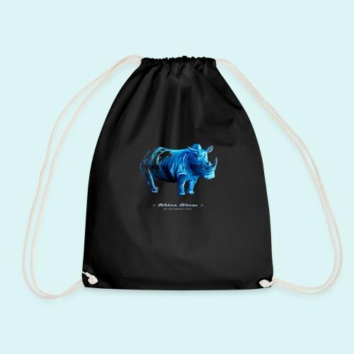 Rhino Blues - Drawstring Bag