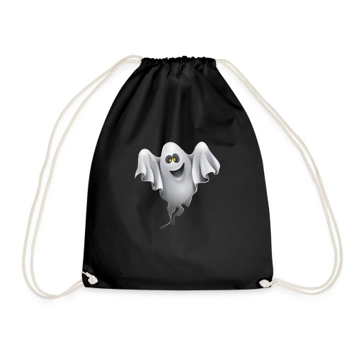 Halloween T-Shirts - Scary cat creepy man - Drawstring Bag