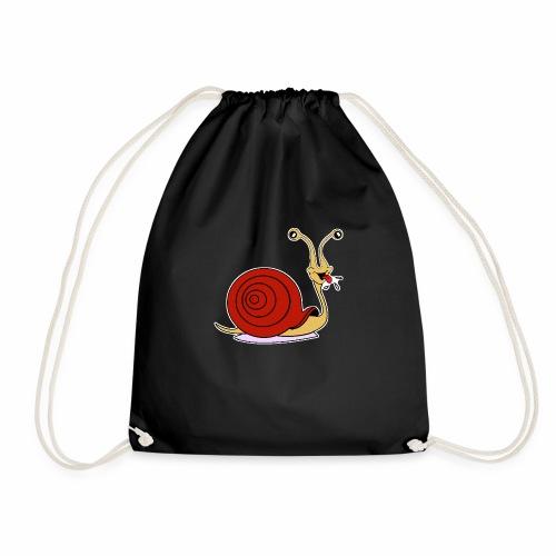 Escargot rigolo red version - Sac de sport léger