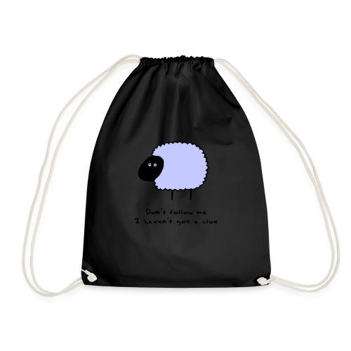 Sheep Clue - Drawstring Bag