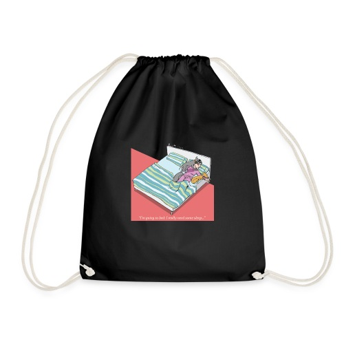 pajama party - Drawstring Bag