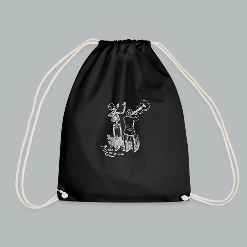 DFBM unbranded white - Drawstring Bag