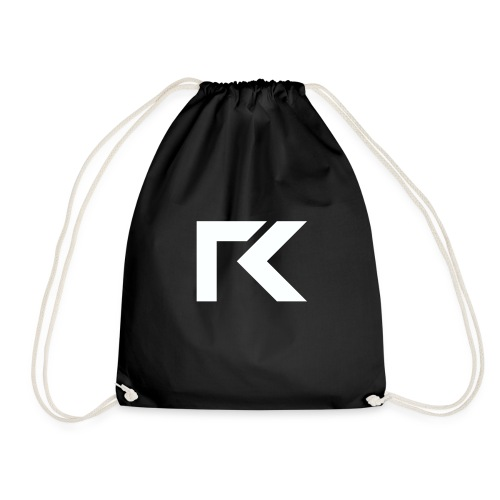 Rxmsey Logo - White - Drawstring Bag