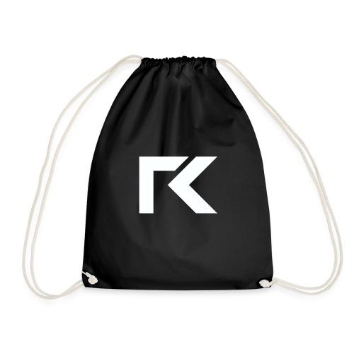 Rxmsey Logo - White - Drawstring Bag