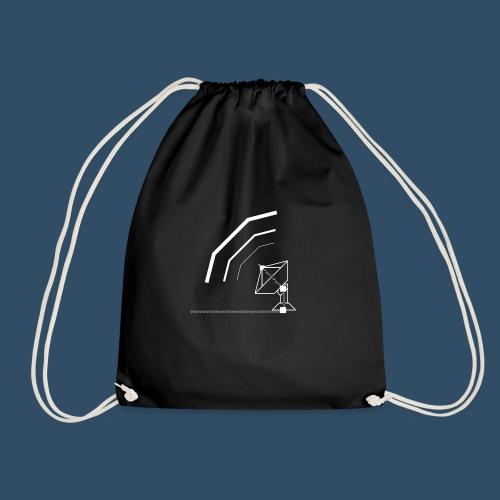 Calling All Broadcasts Satellite Dish - Drawstring Bag