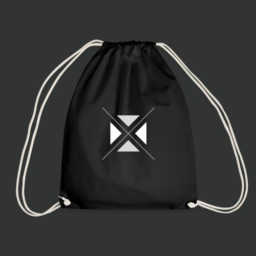 hipster triangles - Drawstring Bag