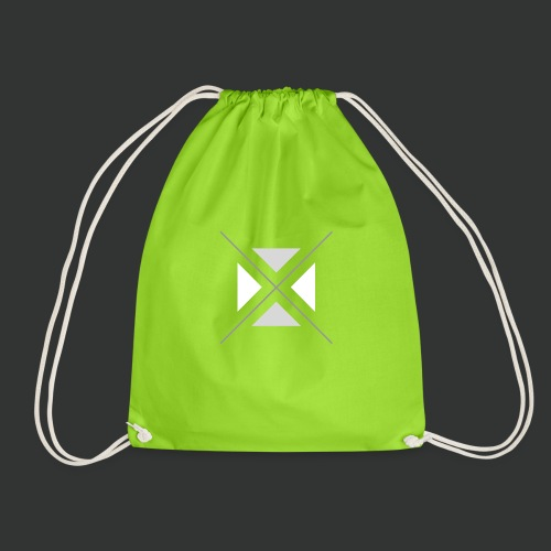 hipster triangles - Drawstring Bag