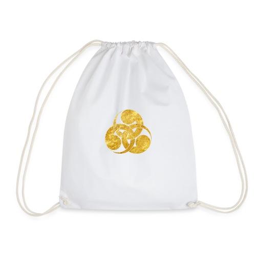 Tadpole Mon Japanese samurai clan - Drawstring Bag