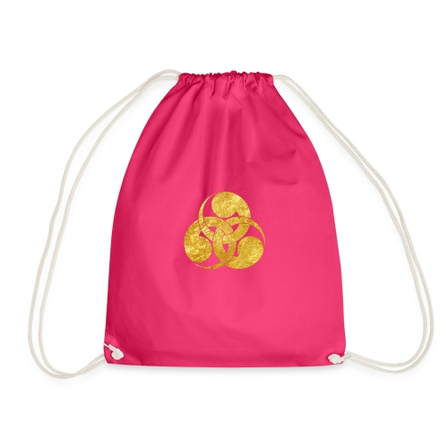 Tadpole Mon Japanese samurai clan - Drawstring Bag