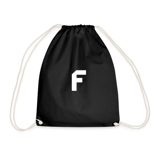 F Letter - Drawstring Bag