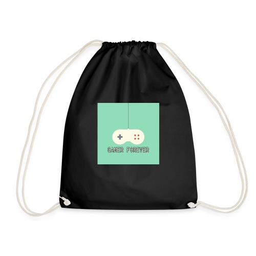 Gamer forever - Drawstring Bag