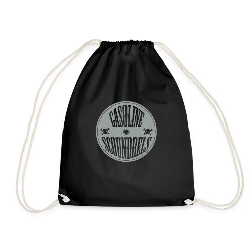 logo wit - Drawstring Bag