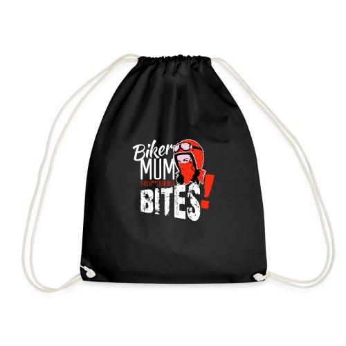 Kabes Biker Mum Bites - Drawstring Bag