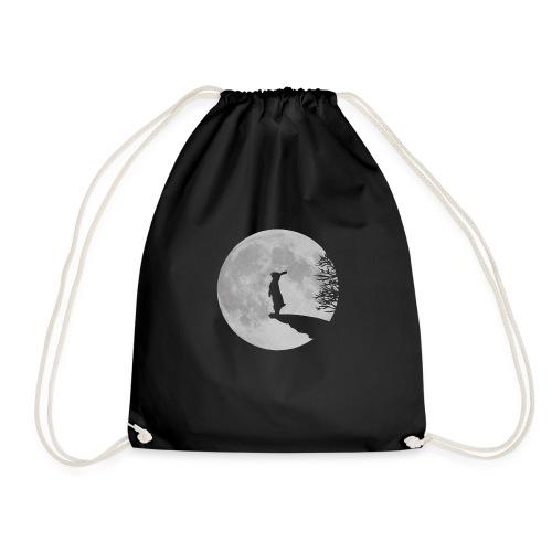 rabbit_wolf-png - Drawstring Bag