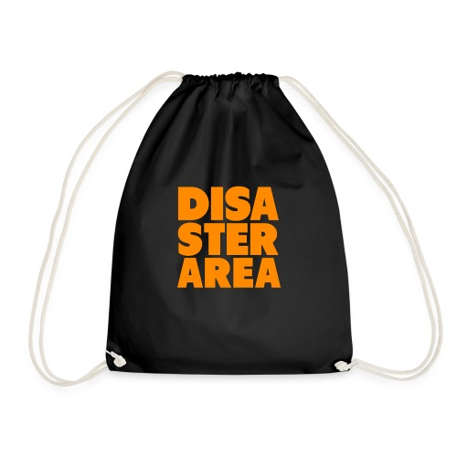 Spreadshirt DISASTER AREA - Drawstring Bag
