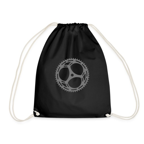 Bicycle Sprocket - Drawstring Bag