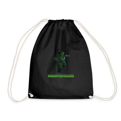 RenderTechnician V3 (Women's Tshirt) - Drawstring Bag