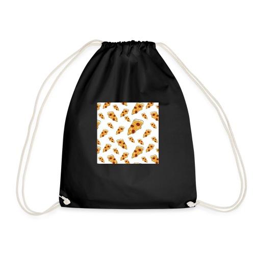 PizzaPattern png - Drawstring Bag