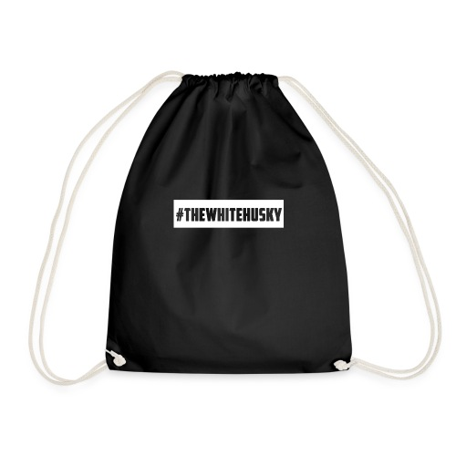 #TheWhiteHusky Mug - Drawstring Bag