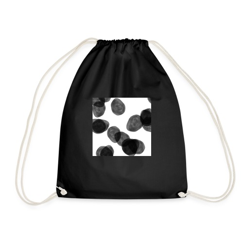 Black clouds - Drawstring Bag