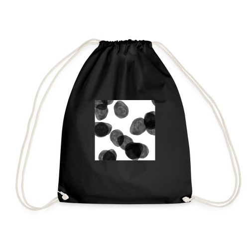 Black clouds - Drawstring Bag