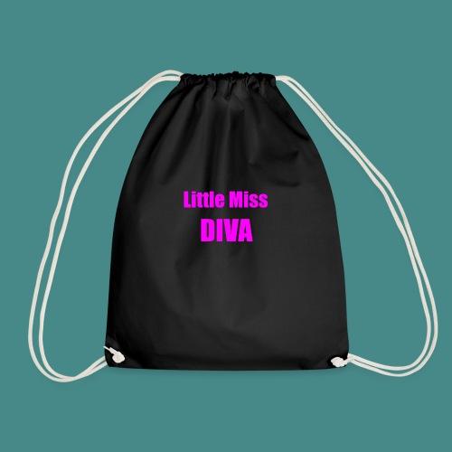 Little Miss Diva - Baby - Drawstring Bag