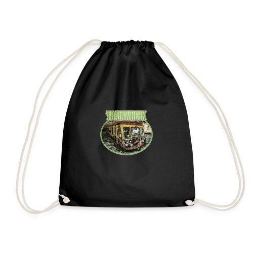trainwreck - cannabis sorte - Drawstring Bag