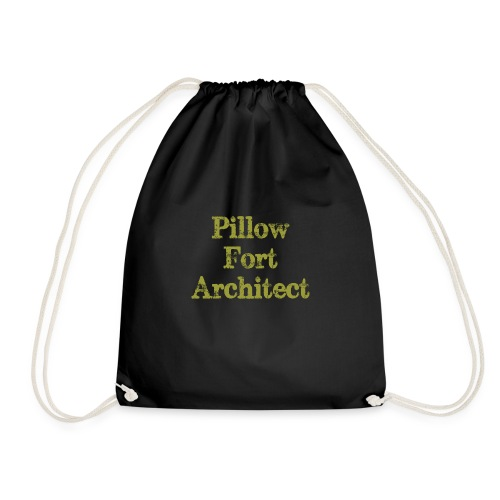 Pillow Fort Architect - Drawstring Bag