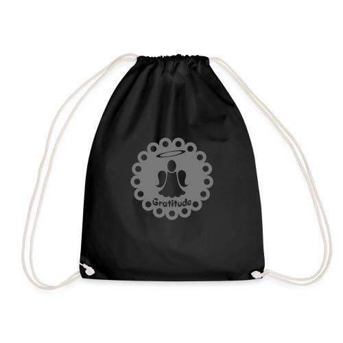 Ange de la gratitude - Drawstring Bag