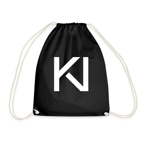 KV Logo png - Drawstring Bag
