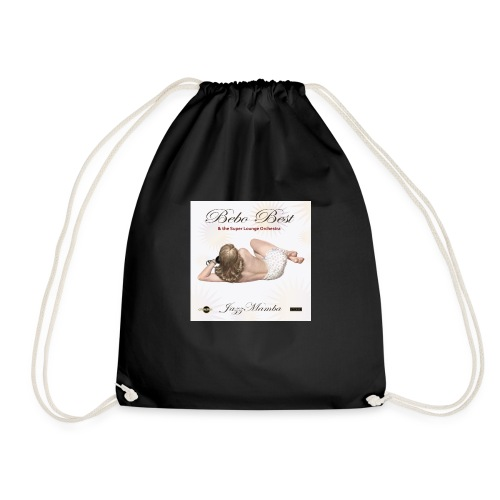Bebo_Best _-_-JazzMamba_ album_cover- - Drawstring Bag
