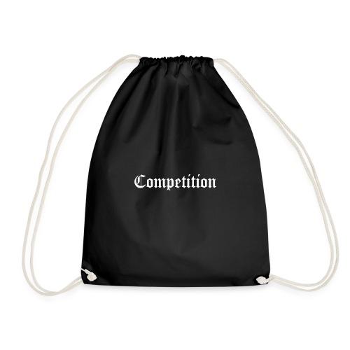 Black Competition Short Sleeve T-Shirt - Drawstring Bag