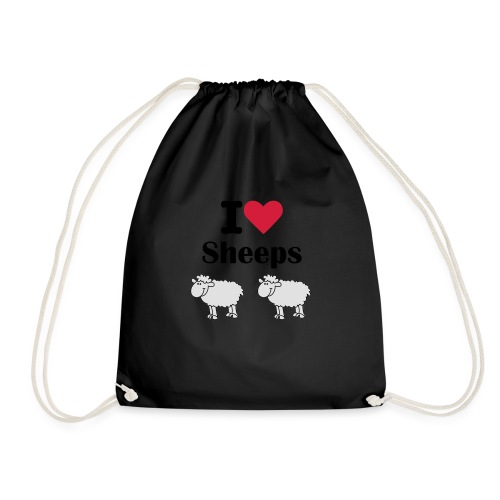 I-love-sheeps - Sac de sport léger