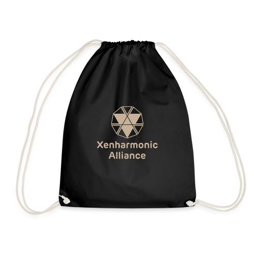 Xenharmonic Aliiance Tan - Drawstring Bag