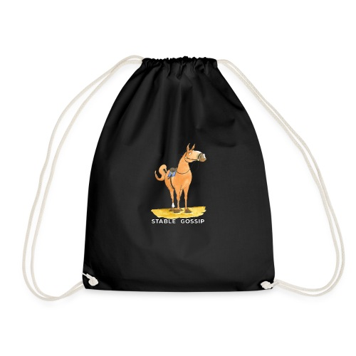 Stable Gossip by Joanna Fisher - Drawstring Bag