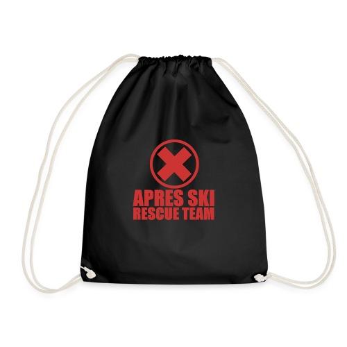 apres-ski rescue team - Drawstring Bag