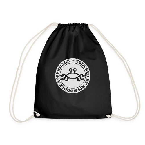 Touched by His Noodly Appendage - Drawstring Bag