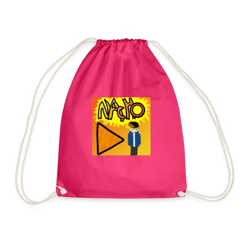 Nacho Title with Little guy - Drawstring Bag