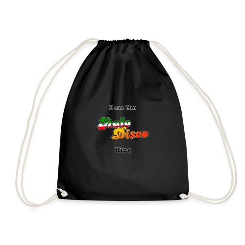 i am the italo disco king - Gymbag