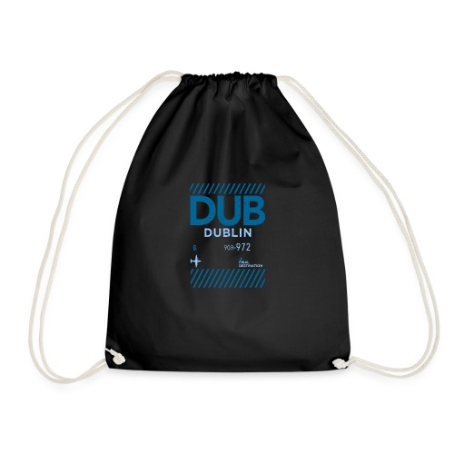 Dublin Ireland Travel - Drawstring Bag